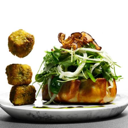 Mushroom & Funnel Crostata