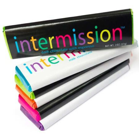 Intermission chocolate bars